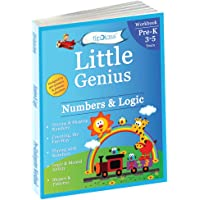 Numbers & Logic: Pre Kindergarten Workbook (Little Genius Series): Teaches Numbers, Counting, Simple Addition, Comparing Quantities, Shapes and Patterns Activities to Pre-Schooler (3-5 years)