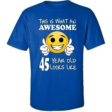 Emoji Birthday 45th Presents Men 45 Year Old Gift