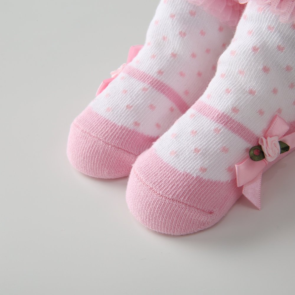 Sanlutoz Baby M/ädchen Baumwolle Socken Sch/öne Prinzessin Spitze Socken f/ür Baby R/üschen Tutu Socken