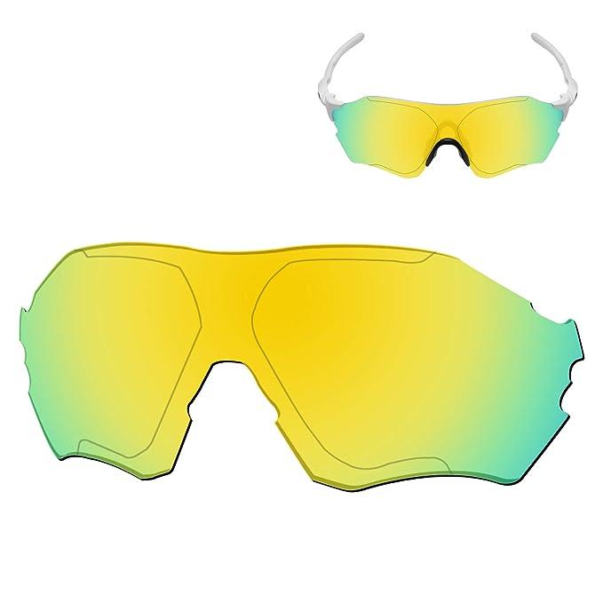 52d4beaa24 Galvanic Replacement Lenses for Oakley EVZero Range Sunglasses - 24k  Polarized