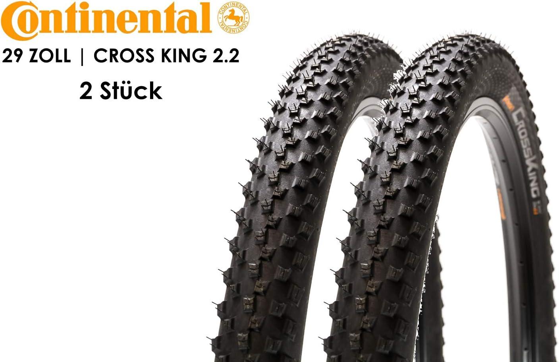 Continental Cross King - Cubiertas para Bicicleta (2 Unidades, 29 ...