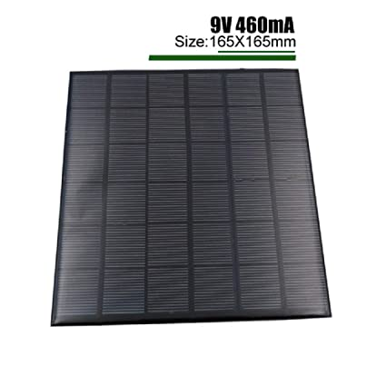 Amazon.com: HDT Cargador Solar Mini 9V 12V 2W 3W 4.2W Panel ...