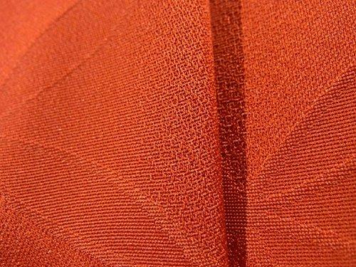 リサイクル 道行コート  地紋起こし 七宝文に花菱様 正絹 裄61.5cm 身丈86cm
