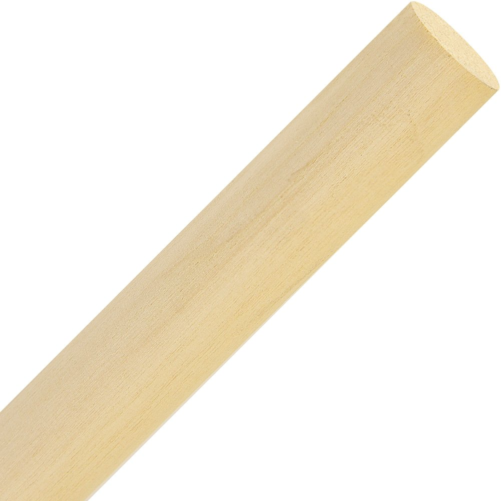 Woodworker's Supply, Inc. 927797, 20-Pack, Specialties, Dowel Rods, 3/4'' X 36'' Hardwood Dowel