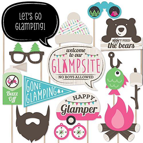 Lets Go Glamping Photo Booth