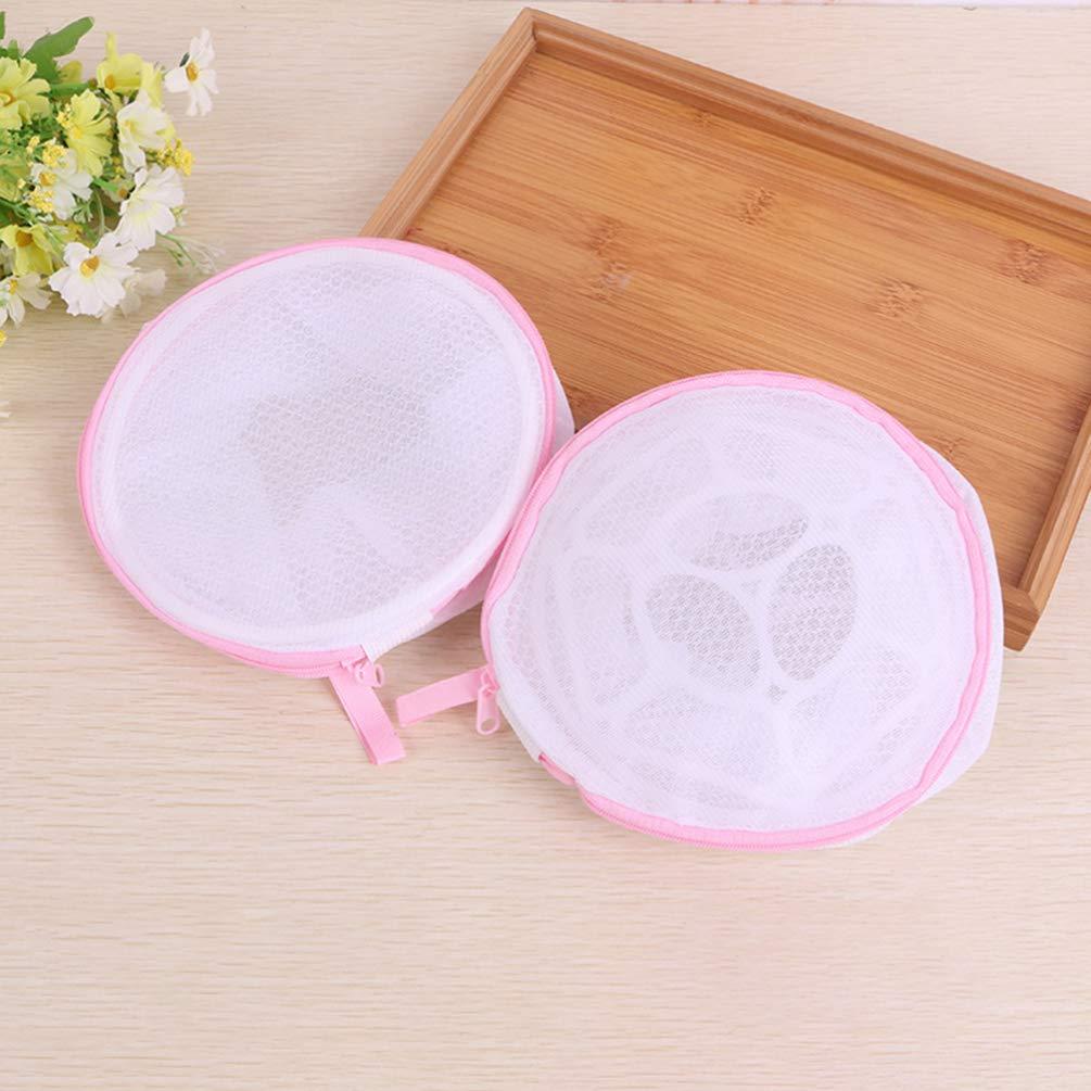 Cabilock bolsa de lavado de sujetador bolsas de lavander/ía de malla de 5 piezas con cremallera para sujetadores//ropa interior//calcetines