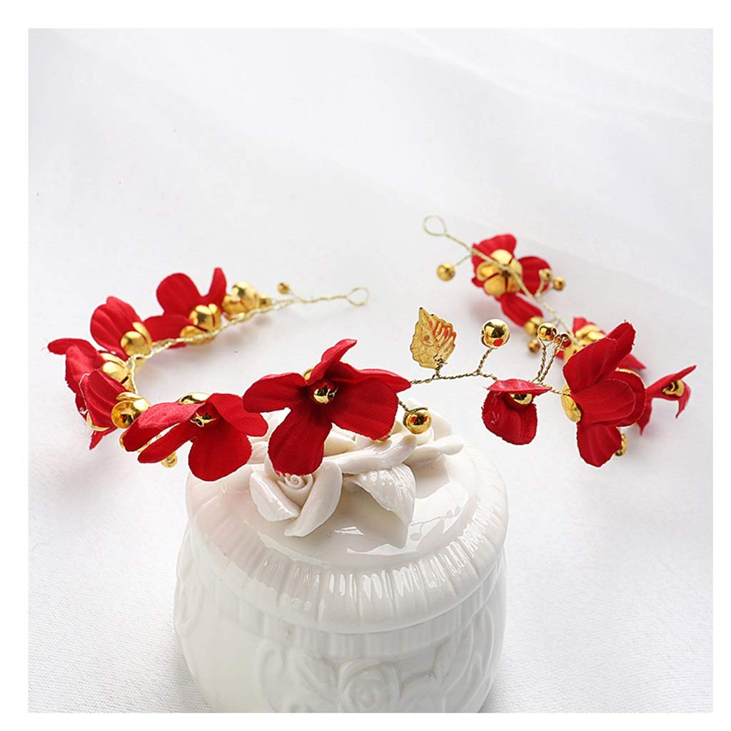 Wreath Girl Flower Headband Crown Handmade Flower Hair Birthday Headband Hair Accessory