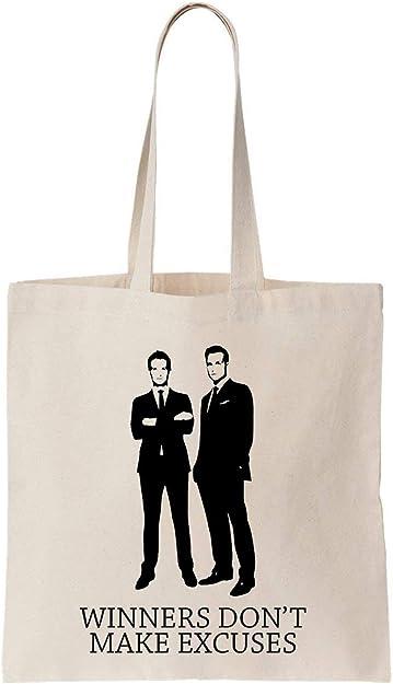 Winners Dont Make Algodón Bag Tote Bag: Amazon.es: Zapatos y ...