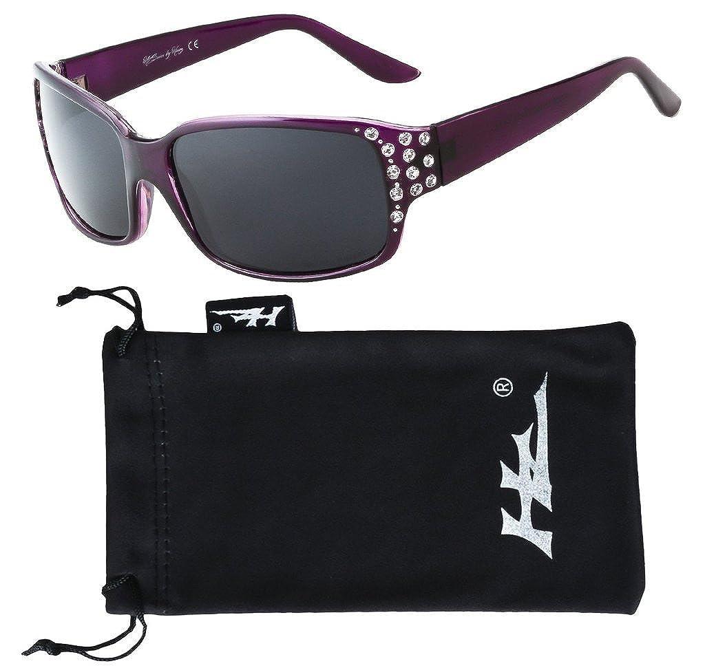 HZ Series Diamante – Women's Premium Polarised Sunglasses by Hornz hz-97006