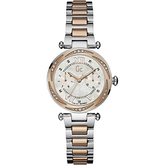 GC by Guess reloj mujer Precious Collection GC Classic Chic Y06112L1: Amazon.es: Relojes