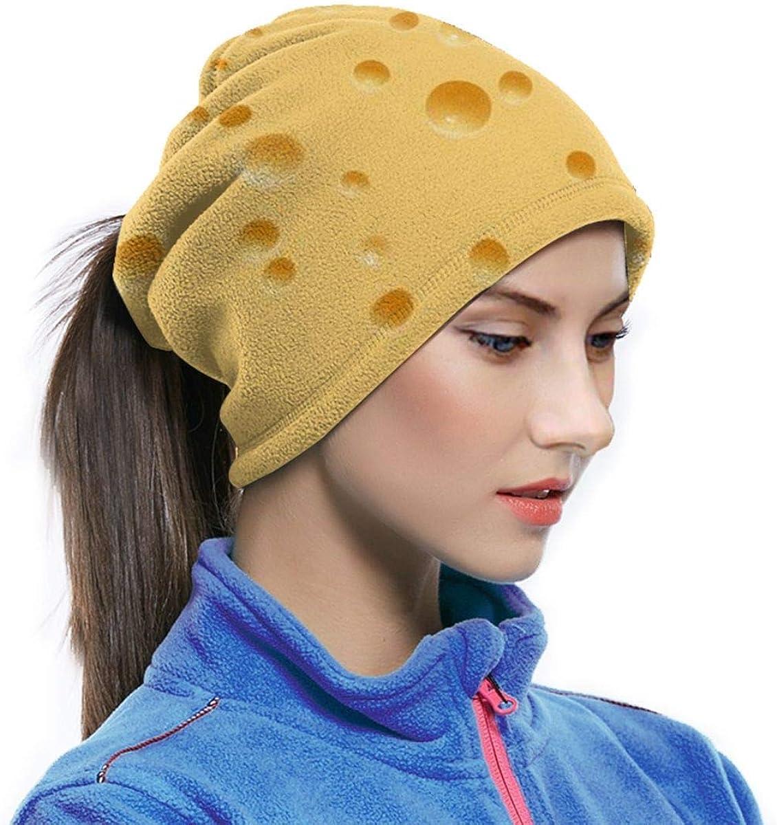 Fromage Trou Bandeau Visage Masque Bandana T/ête Wrap /Écharpe Cou Plus Chaud Chapeaux Cagoule pour les Sports