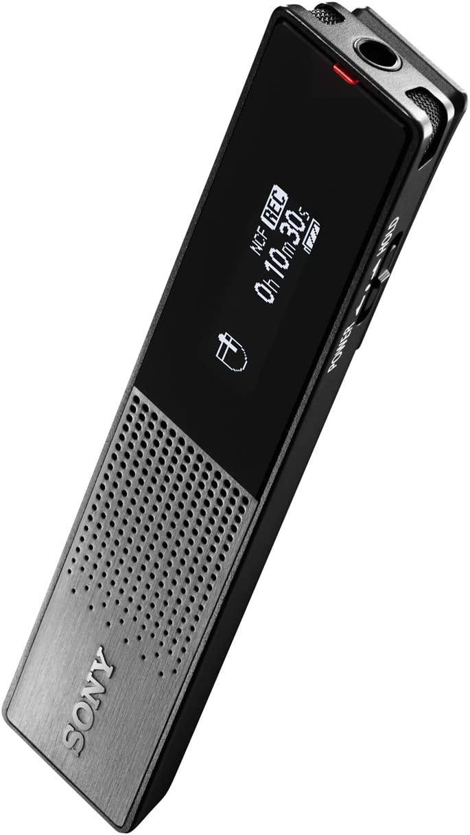 Sony Icdtx650 Diktiergerät Super Slim Design Oled Display Mp3 16gb Audio Hifi