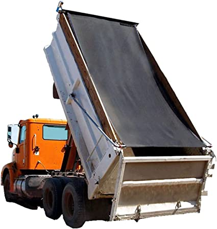 7 X 12 Black Mesh Dump Truck Tarp