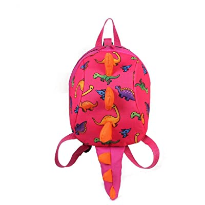 Hiriyt Dinosaur Toddler Mini Backpack Anti-Lost Children Backpack Kids' Backpacks: Shoes