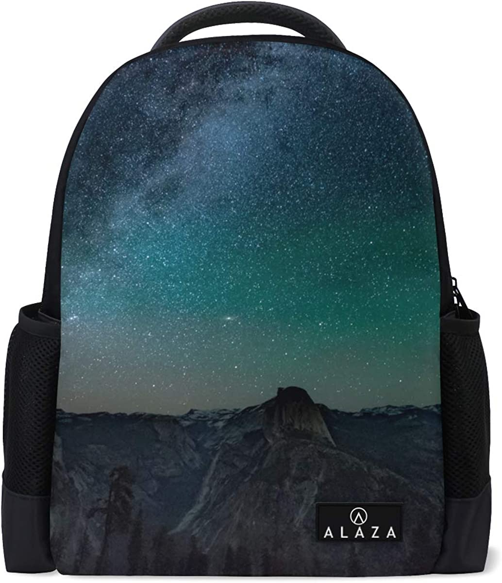 Backpack Field Pack Travel Bag Laptop Bag Fashion Quiet Night Sky