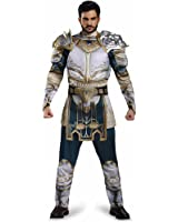 Disguise Men's Warcraft King Llane Muscle Costume