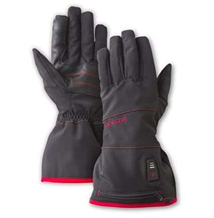 Large Black Gyde Heated 7.4V Featherweight Womens Gloves