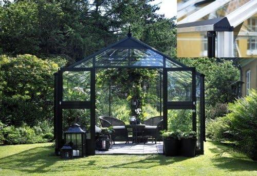 Juliana Invernadero Premium 8.8 aluminio Blank Cristal: Amazon.es: Jardín