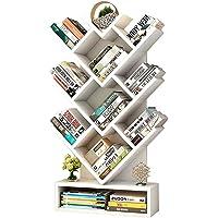 Bookcases Bookcase/Magazine Shelf Stylish Floor-Standing Bookshelf Solid Wood Study Floor-Standing Bookshelf Storage Shelf Living Room Simple Floor-Standing Bookshelf