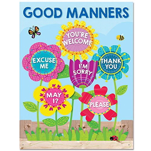 - Creative Teaching Press Chart Garden of Good Manners Chart (5556)