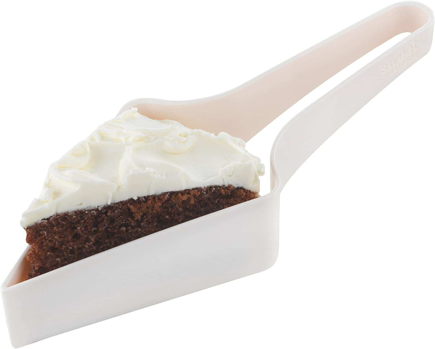 and Server Slicer Sweet Creations 8 Portion Cake Cutter
