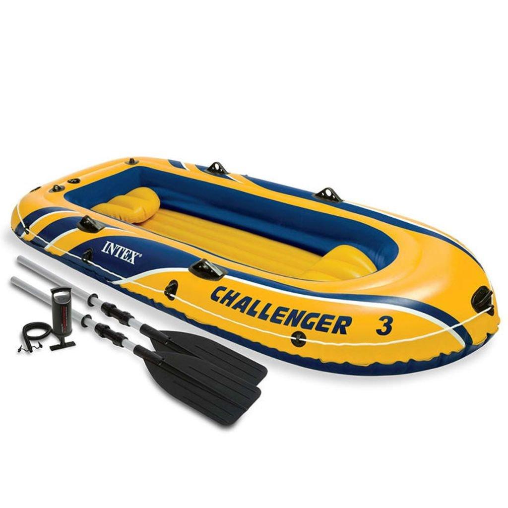 Festnight Barca Hinchable con Remos y Bomba Challenger Capacidad ...