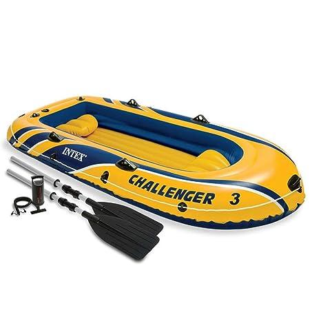 Festnight Barca Hinchable con Remos y Bomba Challenger Capacidad M/áx de Carga 320 kg 295 x 137 x 43 cm