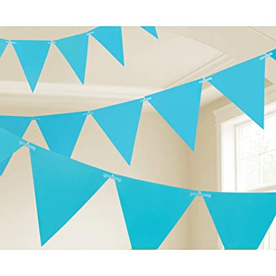 Amscan 120099.54 Pennant Banner, 15 feet, Blue: Kitchen & Dining