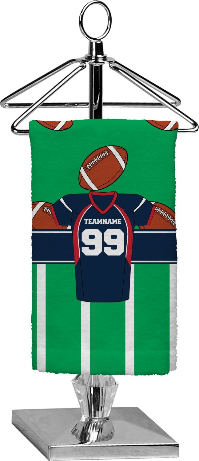 RNK Shops Football Jersey Finger Tip Towel - Full Print (Personalized)