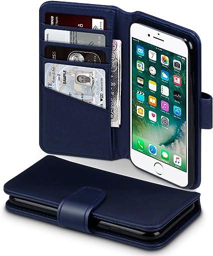 TERRAPIN Funda para iPhone SE 2020 / iPhone 8 / iPhone 7 Cartera ...