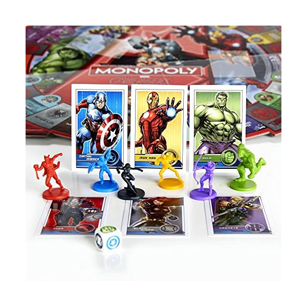 Monopoly Avengers Game