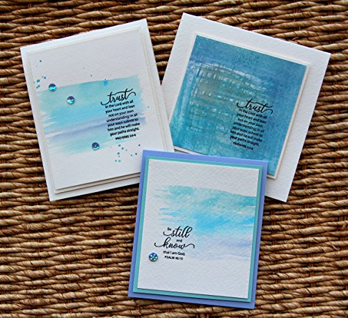 Stamp Simply Clear Stamps Fear Not and Words of Encouragement Christian Religious (2-Pack) 4x6 Inch Sheets - 17 Pieces by Stamp Simply (Image #5)