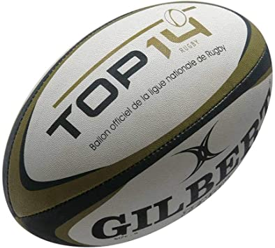 GILBERT Top 14 Mini Rugby Ball: Amazon.es: Deportes y aire libre