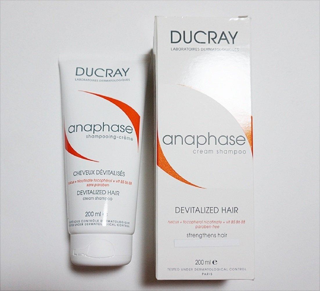 Ducray Anaphase Cream Shampoo 200ml Anti-hair Loss Care Yours Hair