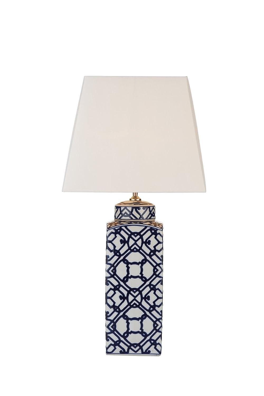 Dar lighting mystic table lamp blue white base only amazon dar lighting mystic table lamp blue white base only amazon lighting aloadofball Images