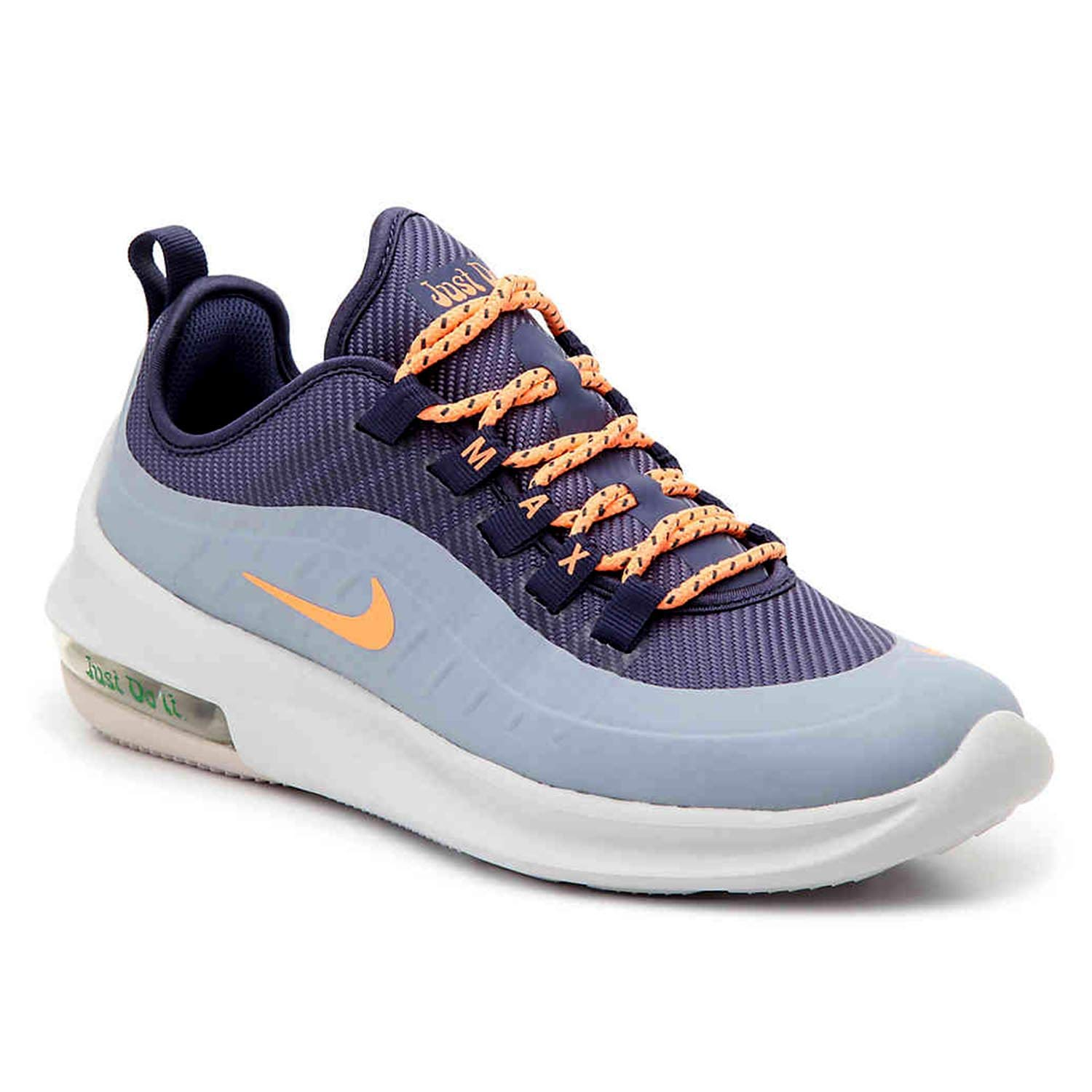 Nike Women's Air Max Axis Running Shoe (5.5 M US, Sanded Purple/Orange Pulse)