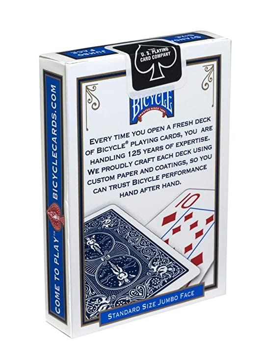 1 Deck Bee Standard Poker Playing Cards Blue Brand New Deck Casino Quality