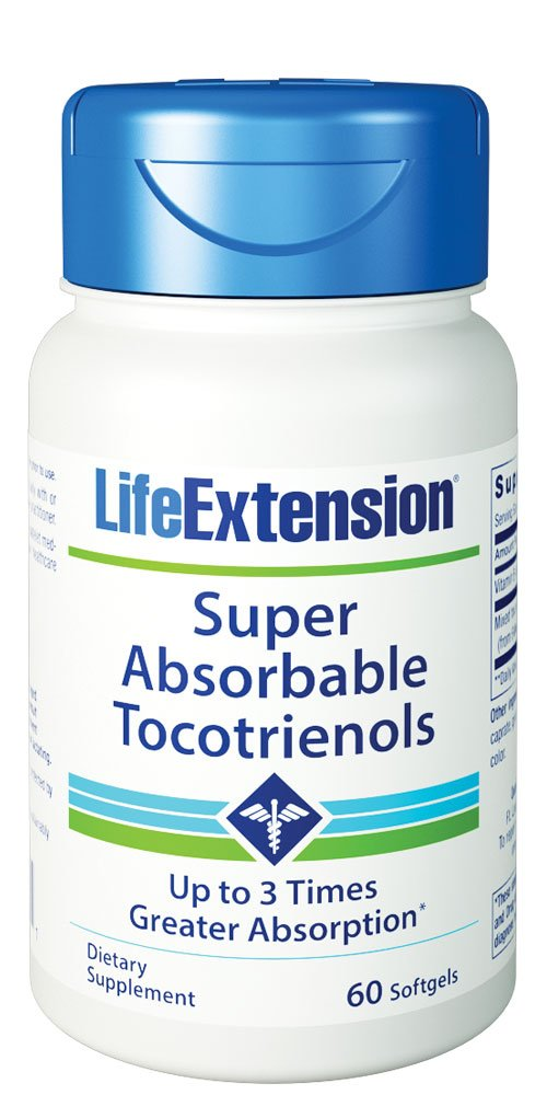 Life Extension Super Absorbable Tocotrienols, 60 softgels by Life Extension