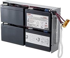 APC UPS Battery Replacement, RBC24, for APC Smart-UPS Models SMT1500RM2US, SMT1500R2-NMC, SU1400RM2U, SU1400RMNET, SUA1500RM2U and select others
