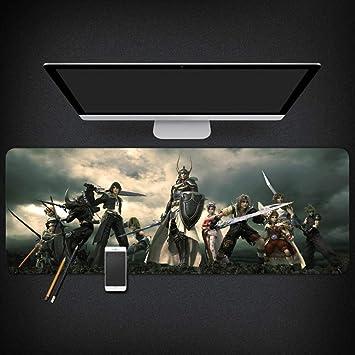 IGZNB Alfombrillas de ratón Final Fantasy Game Mouse Pad E-Sports ...