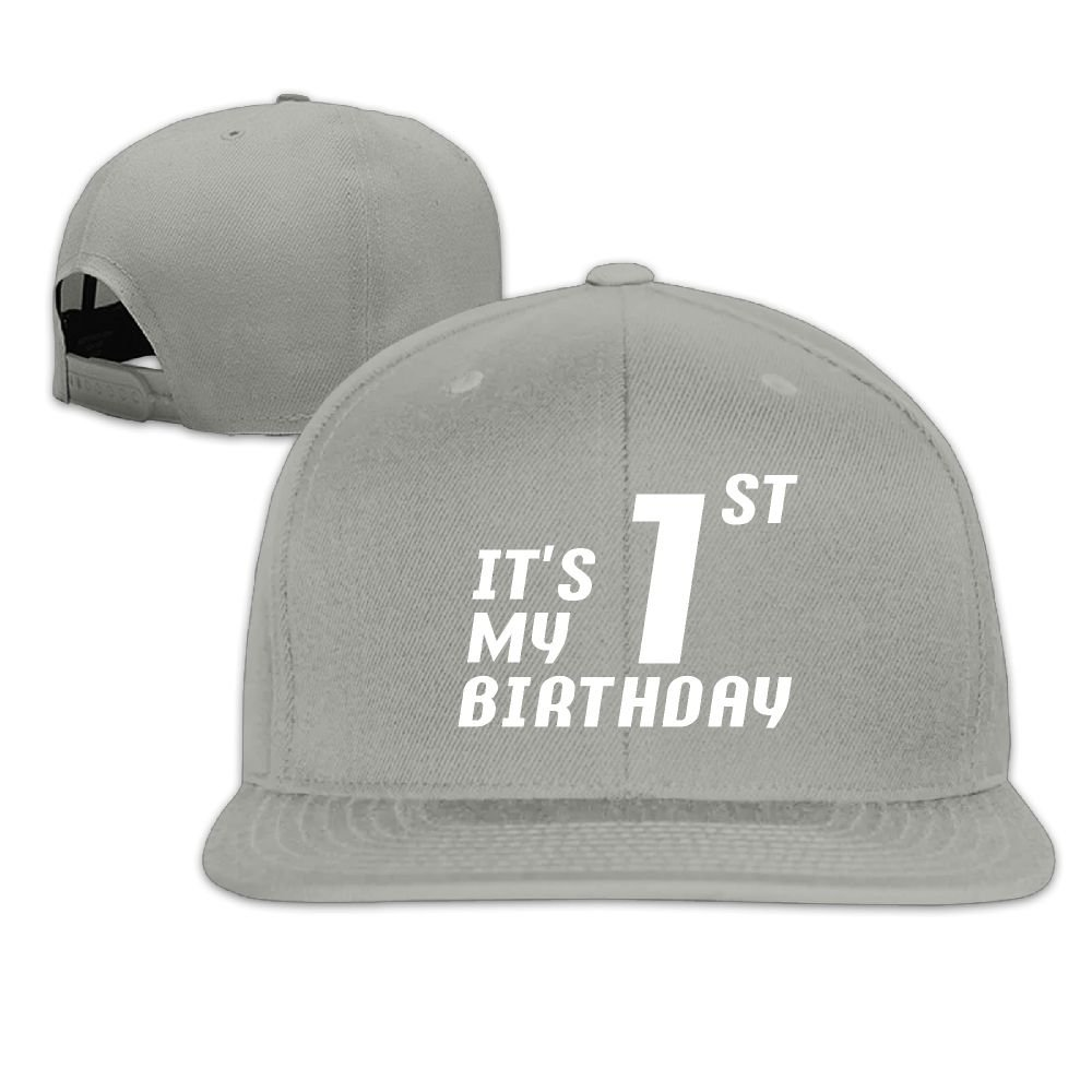 DGhfs2 Cap It s My First Birthday Men Classic Snapback Hats Dad Adjustable  Baseball Caps at Amazon Men s Clothing store  f5a7fdd7aa6