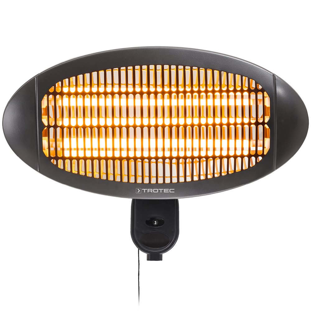 Trotec Radiant Infrarouge Lectrique Ir 2000 S Parasol Chauffage