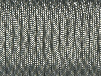 Details about  /7 Strand Core Cord 300lb Paracord Parachute Rope Lanyard Black