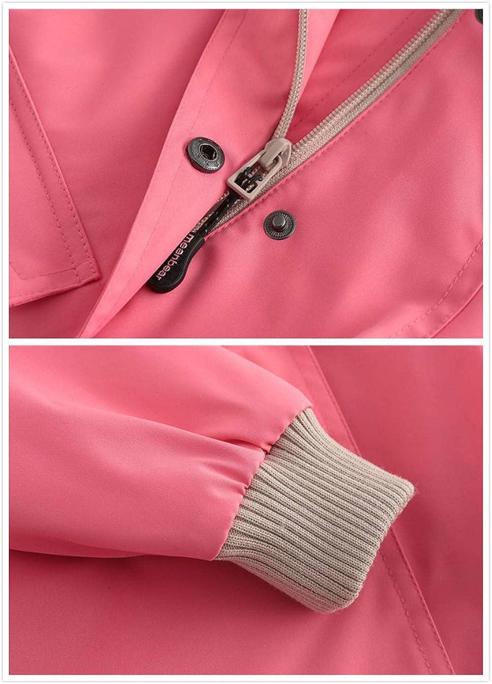 ZPW Boys Girls Spring Fall Outdoor Hooded Rain Jacket