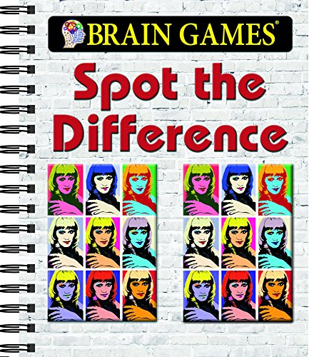 Brain Games - Spot the Difference (Brain Games - Picture Puzzles)