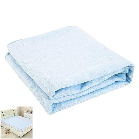 ZhongYeYuanDianZiKeJi Protector de Colchón Impermeable Cubrecolchón Transpirable Almohada para Cama Hipoalergénico, Anti-Ácaros,