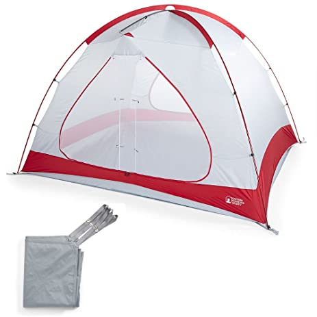 EMS Big Easy 6 Tent Chilipepper Red One Size  sc 1 st  Amazon.com & Amazon.com : EMS Big Easy 6 Tent Chilipepper Red One Size : Sports ...