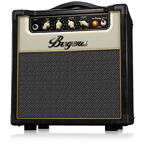 Bugera V5 5-Watt Class-A Valve Amplifier Combo with Reverb And Power Attenuator by Behringer