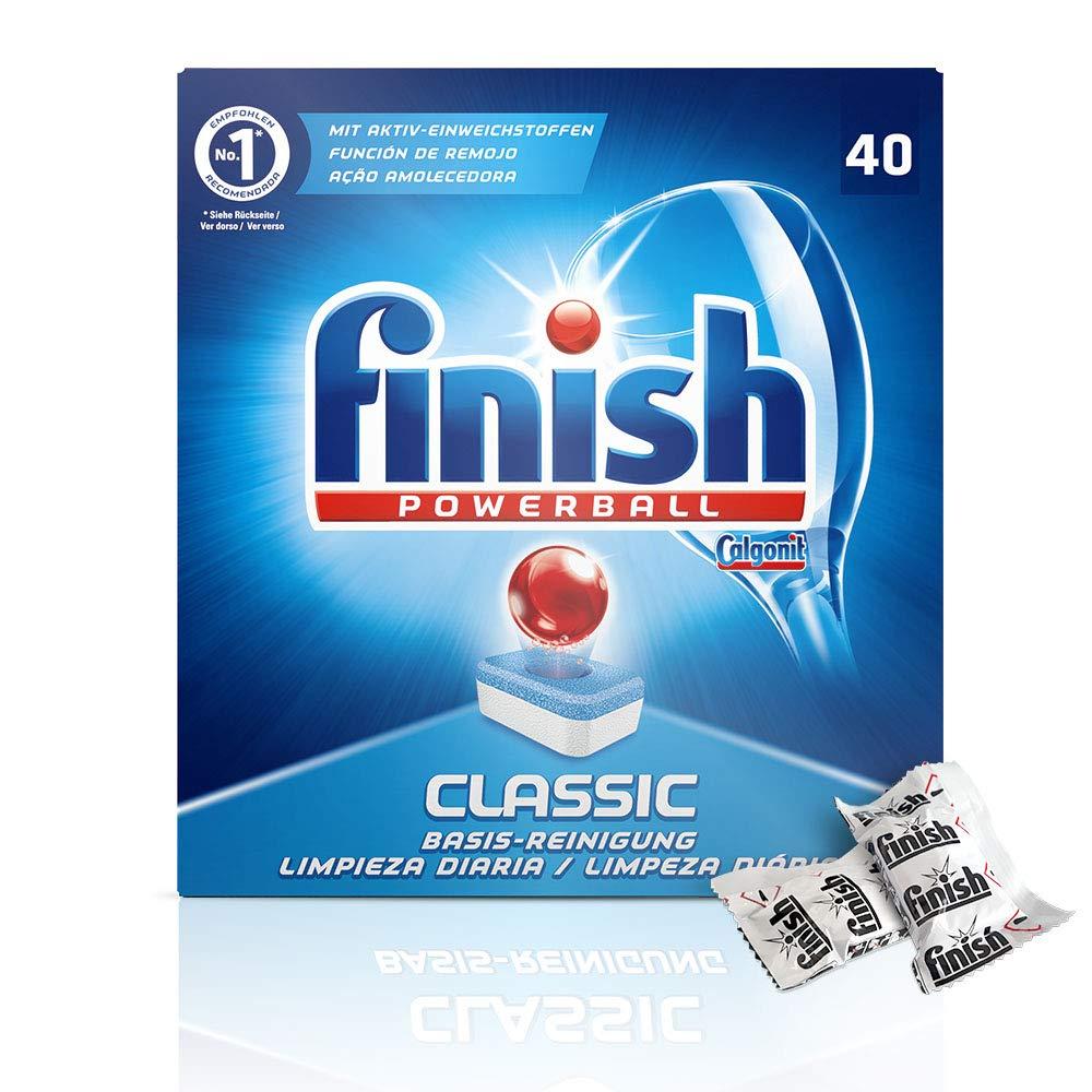 Pastillas para lavavajillas Finish Classic: Amazon.es: Salud y ...