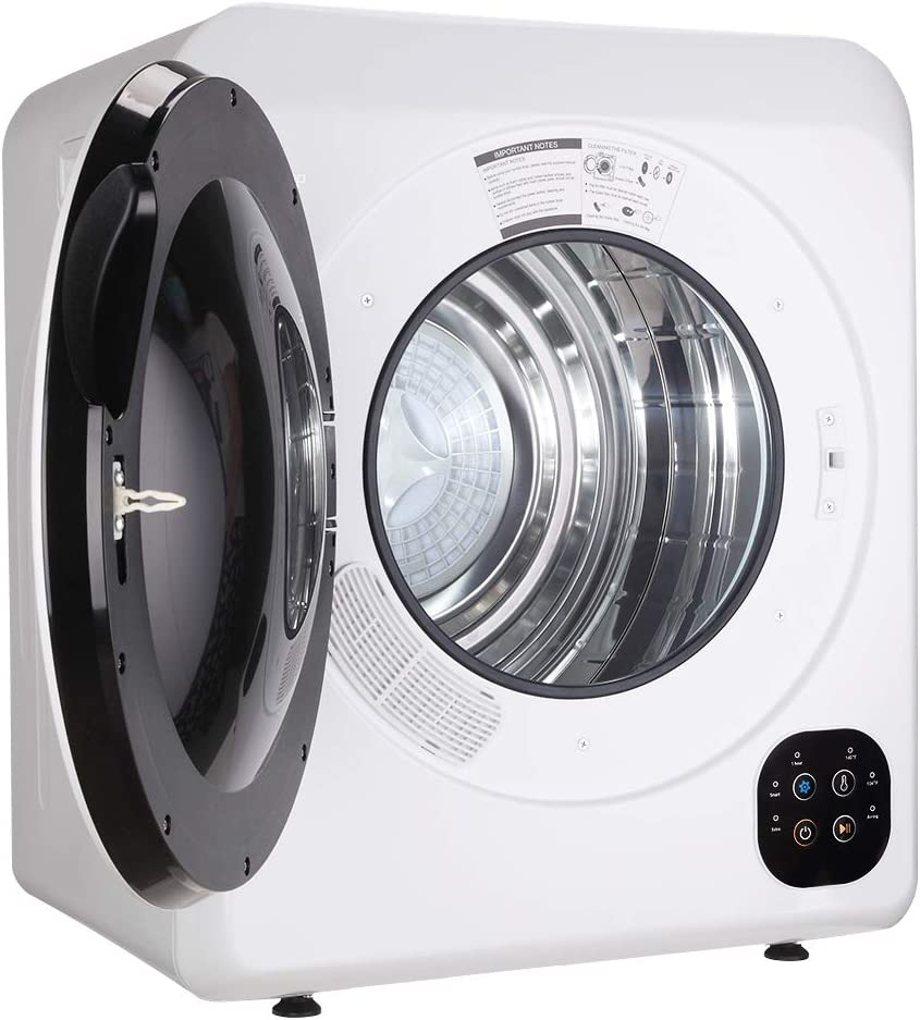 Stainless Steel Tub Easy Control Button Compact Tumble Laundry ...